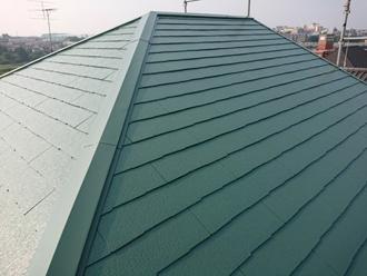アフター 屋根塗装