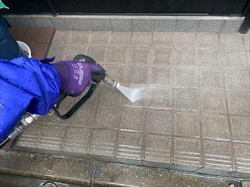 玄関たたき洗浄