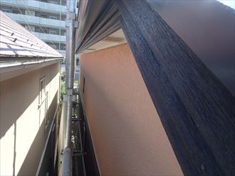 木製破風板仕上がり