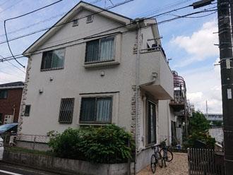 外壁塗装・屋根カバー工法を行った築13年になる邸宅