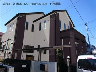 外壁ND-322-柱部分05-30B 付帯部黒
