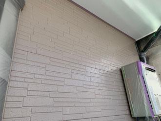 サーモアイウォールSiで塗装した外壁