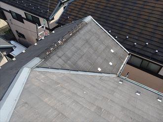スレート屋根の風災調査
