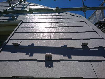 豊島区高松で屋根塗装完了