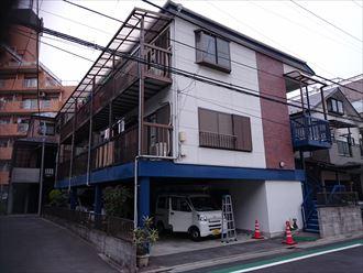 屋根外壁塗装工事,施工前