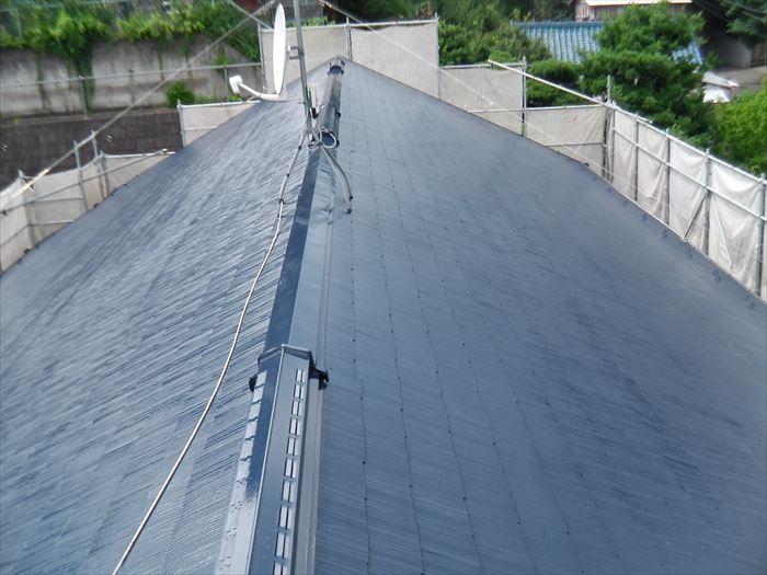 屋根塗装,棟板金交換工事