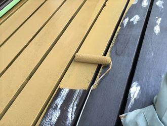 木部平場塗装