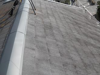 江戸川区 屋根塗装 色褪せした屋根