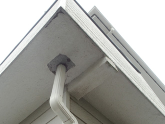 軒天の雨樋
