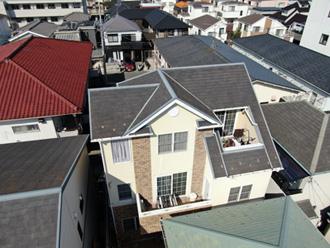 ドローンによる屋根点検