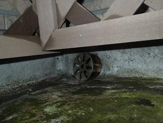 排水性能に不安がある排水口の位置