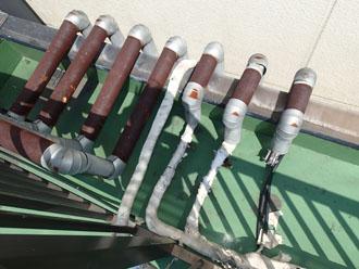 さまざま配管と引き込み