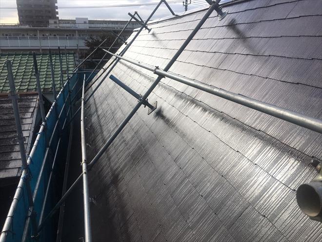 屋根塗装、完成