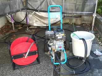 ガソリンエンジン式高圧洗浄機