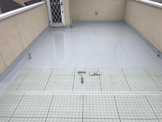 ウレタン防水1層目
