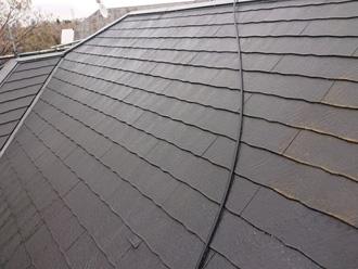 高圧洗浄で綺麗なった屋根