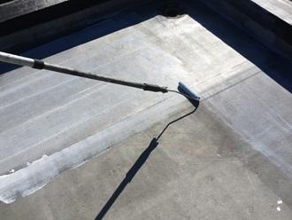 床面(平部)に防水工事