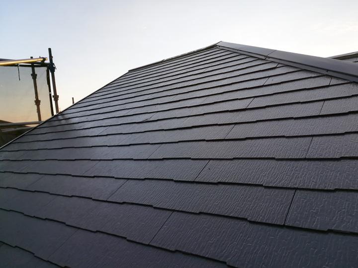 サーモアイによる屋根塗装完成