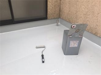 ウレタン防水層2層の塗布